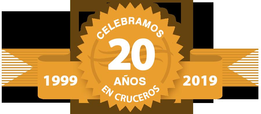 Celebraños 20 años en cruceros