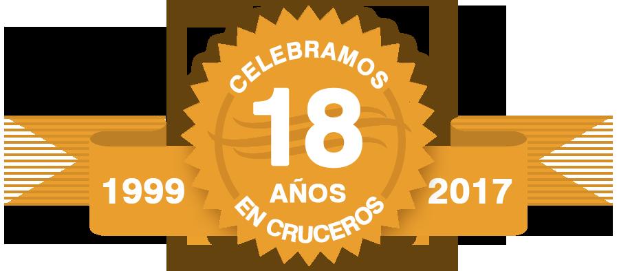 Celebraños 18 años en cruceros